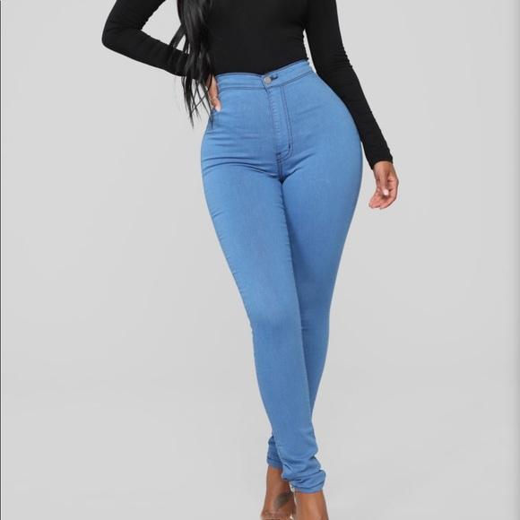 Fashion Nova Denim - Fashion nova super high waist skinnies